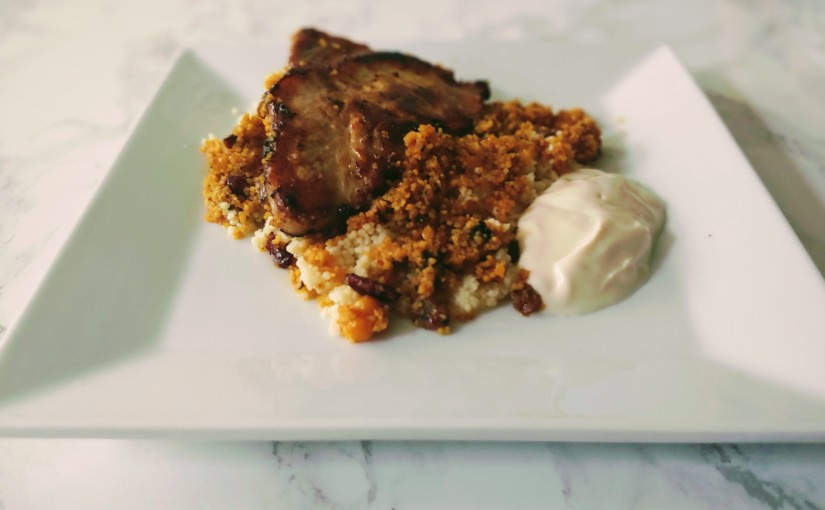 Pork Chop & Cous Cous Recipe