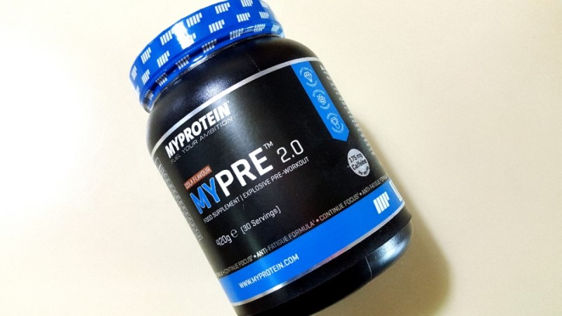 MYProtein MYPRE 2.0 Review