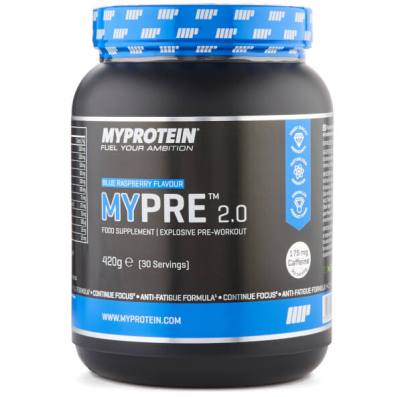 MyPre pre workout review